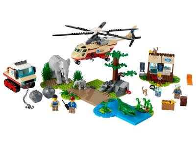 LEGO L'opération de sauvetage des animaux sauvages (60302)