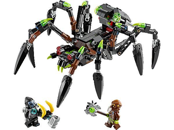 LEGO Chima 70130 sparratus araignées stalker spider le tank araignée de sparratus