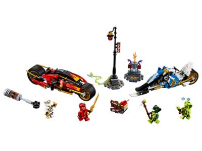 LEGO Kai's Blade Cycle & Zane's Snowmobile (70667)