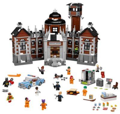 Arkham Asylum Lego Aaron Cash Minifigure 70912 Batman Movie BRAND NEW