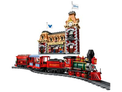 LEGO Le train et la gare Disney (71044)
