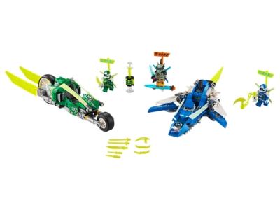 LEGO Les bolides de Jay et Lloyd (71709)