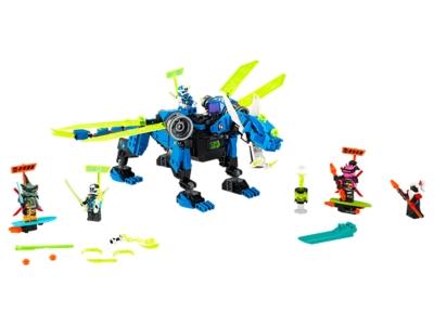 LEGO Le cyber dragon de Jay (71711)