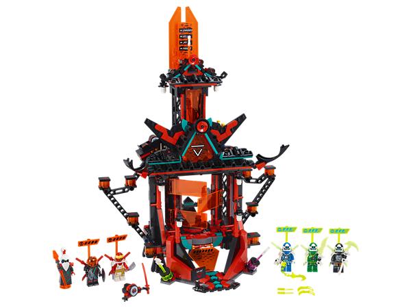 LEGO NINJAGO 71712 Jay Cole Lloyd Unagami Prime Empire Tempel des Unsinns