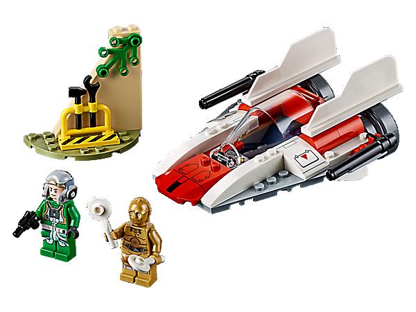 LEGO ® Star Wars minifigur A-wing pilote rebel de Set 75247 nouveau