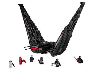 Lego Kylo Ren S Shuttle 75256 Now 87 76 At Amazon De 32 Below The Lego Retail Price Brickwatch Netherlands Lego Pricewatch