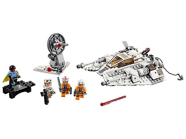 Lego Star Wars-Hoth Rebel Trooper Tower Gun 20th Anniversary Edition 75259
