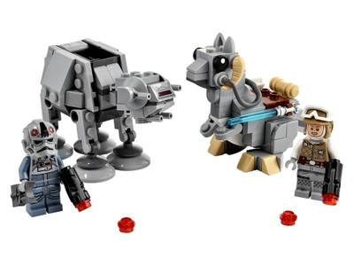 LEGO AT-AT™ vs. Tauntaun™ Microfighters (75298)