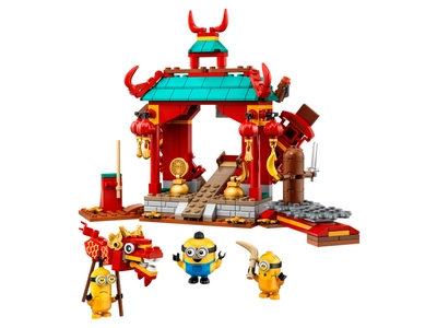 LEGO Minions kungfugevecht (75550)