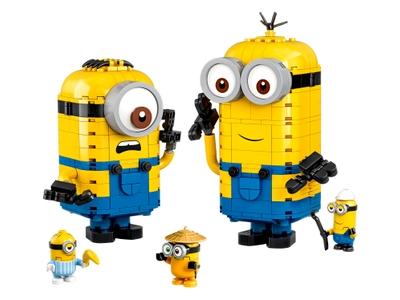 LEGO Minions-figuren van stenen en hun schuilplaats (75551)