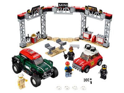 LEGO 1967 Mini Cooper S Rally and 2018 MINI John Cooper Works Buggy (75894)