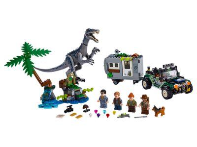 LEGO L'affrontement du baryonyx : la chasse au trésor (75935)