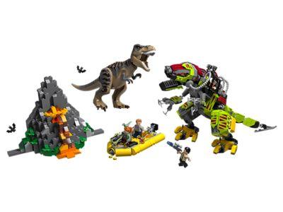 LEGO T. rex vs Dino-Mech Battle (75938)