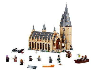 LEGO Harry Potter Hogwarts Great Hall 75954 Building Kit /& Magic Castle Toy New