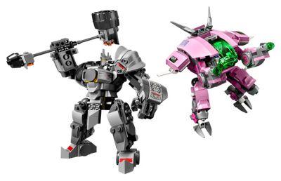 LEGO D.Va & Reinhardt (75973)
