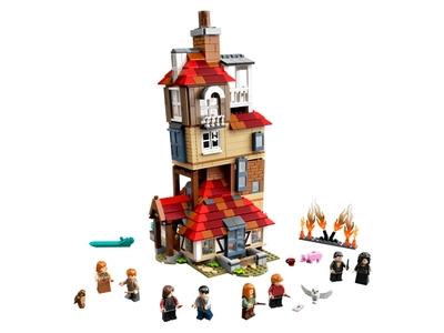LEGO L'attaque du Terrier des Weasley™ (75980)