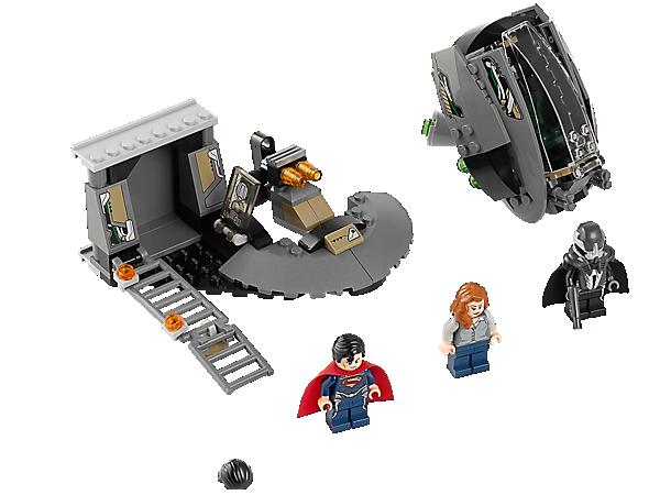 LEGO 76009 Super Heroes DC Universe Superman Black Zero Escape auf der Flucht