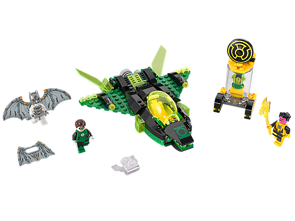 LEGO® 76025 DC Super Heroes Green Lantern vs Sinestro