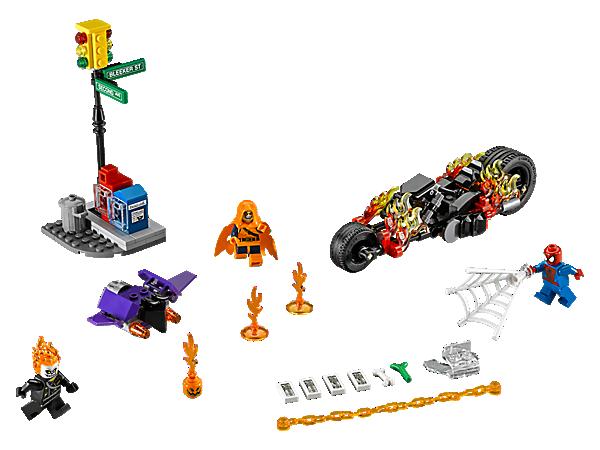 LEGO SUPER HEROES SPIDERMAN SPIDER MAN GHOST RIDER SI ALLEA LEGO 76058