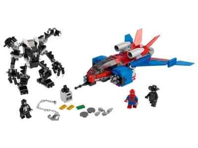 LEGO Spiderjet vs. Venom Mech (76150)