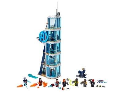 LEGO Avengers Tower Battle (76166)