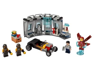LEGO Iron Man Wapenkamer (76167)