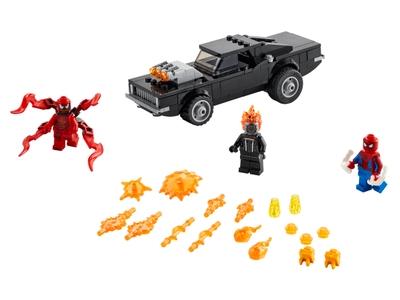 LEGO Spider-Man en Ghostrider vs. Carnage (76173)
