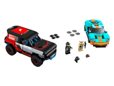LEGO Ford GT Heritage Edition and Bronco R (76905)