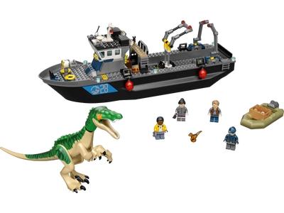 LEGO Baryonyx Dinosaur Boat Escape (76942)