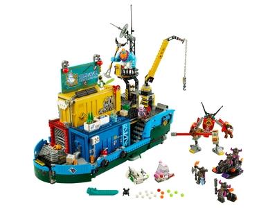 LEGO Le QG secret de l'équipe de Monkie Kid (80013)