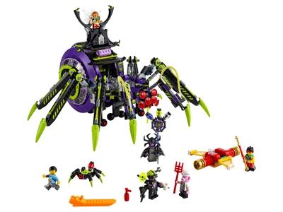 LEGO Spider Queen's Arachnoid Base (80022)
