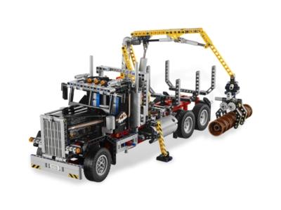 lego logging truck 9397 nu 224 50 bij 39 t blokjeshuis. Black Bedroom Furniture Sets. Home Design Ideas