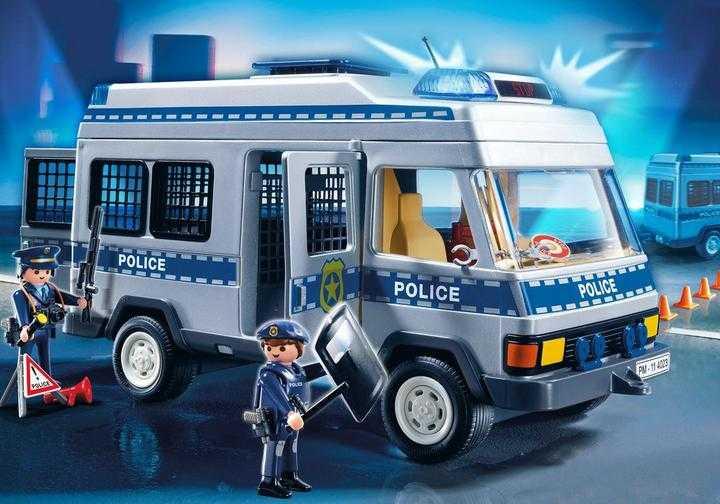 PLAYMOBIL Mobiele politie eenheid (4023)