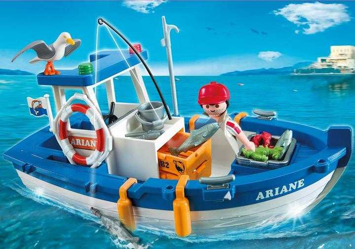 PLAYMOBIL Fisherman with Boat (5131)