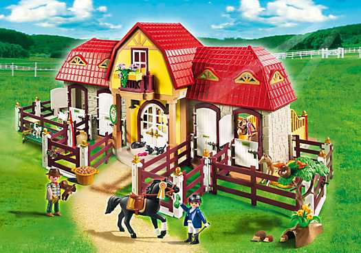 PLAYMOBIL Grote Paardenranch (5221)