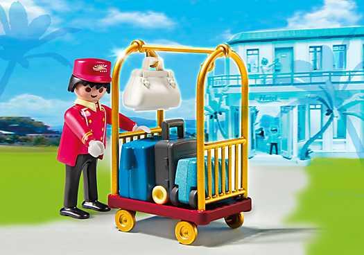 PLAYMOBIL Piccollo met bagage (5270)