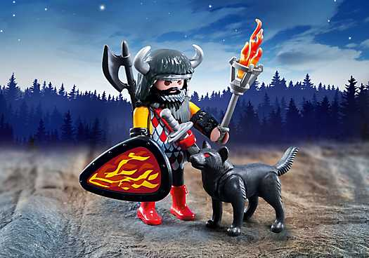 PLAYMOBIL Wolf Warrior (5385)