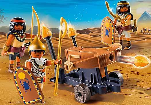 PLAYMOBIL Soldaten van de farao met ballista (5388)