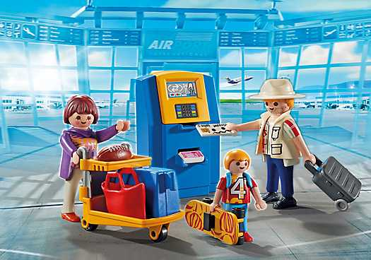 PLAYMOBIL Family at Check-In (5399)