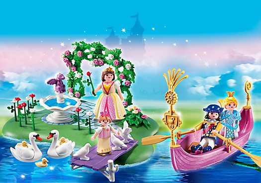 Jubileum Compact Set Prinsesseneiland Met Romantische Gondel 5456