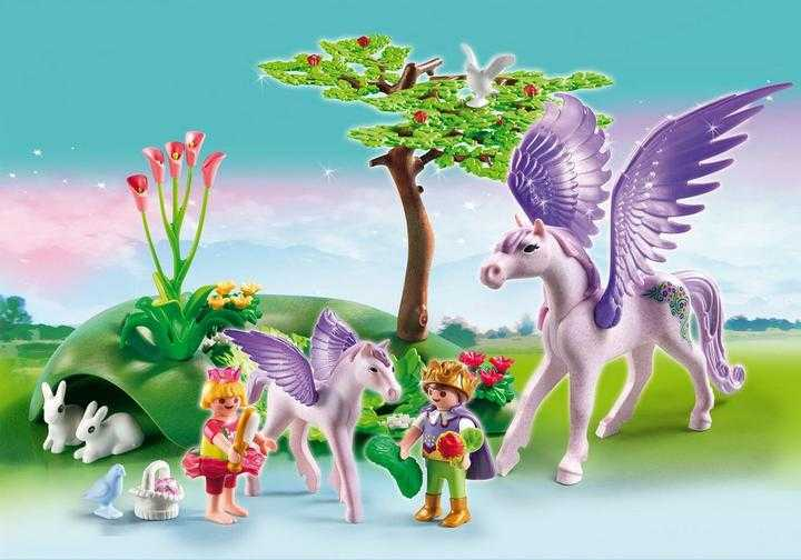 PLAYMOBIL Royal Children with Pegasus and Baby (5478)