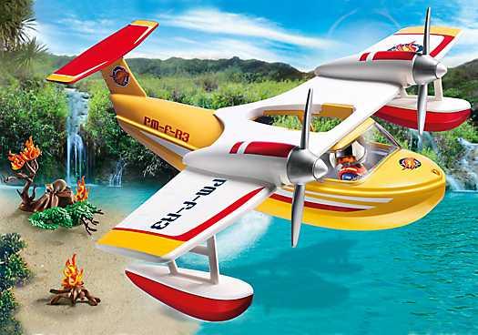 PLAYMOBIL Firefighting Seaplane (5560)