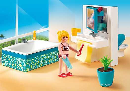 Badkamer met bad (5577) - Playmowatch Nederland - Playmobil® Pricewatch