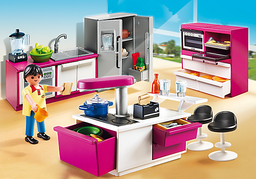 Modern Designer Kitchen 5582 Playmowatch Germany Playmobil