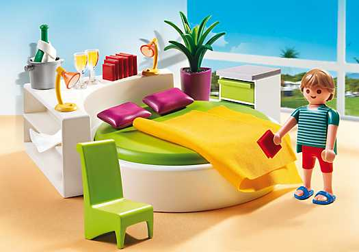 PLAYMOBIL Slaapkamer met loungebed (5583)