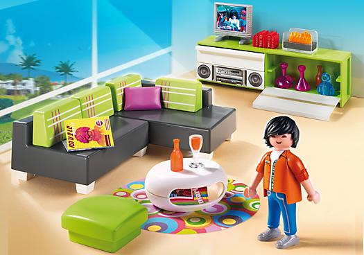 Woonkamer (5584). Nu € 9.99 bij Playmobil Online NL, 33% onder de ...