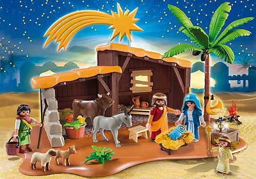 PLAYMOBIL Grote kerststal (5588)