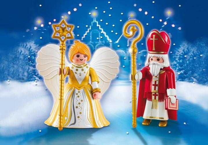 PLAYMOBIL St. Nicholas and Christmas Angel (5592)