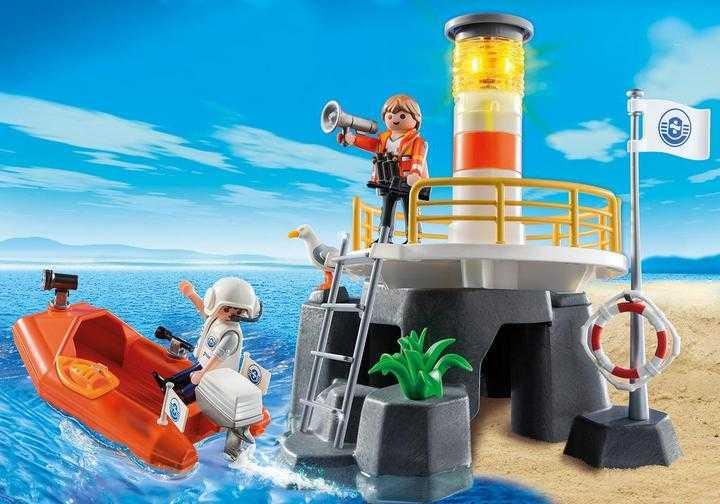 PLAYMOBIL Vuurtoren met reddingsboot (5626)