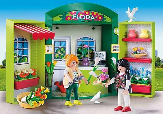 PLAYMOBIL Speelbox Bloemenwinkel (5639)